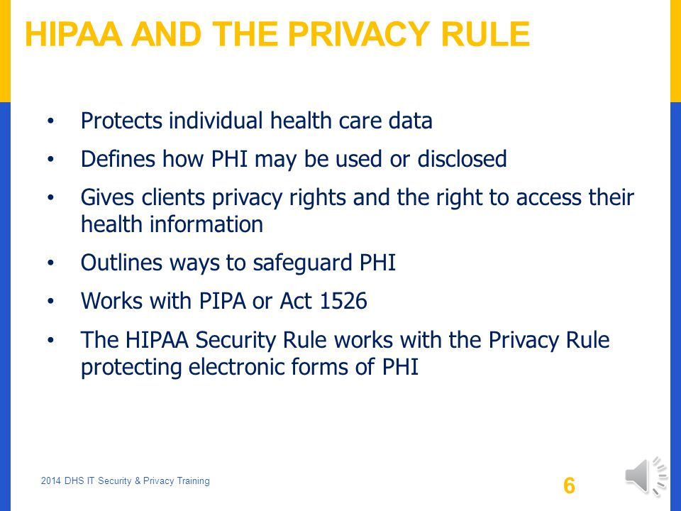 health care and privacy rule Health plans, health care clearinghouses, health care providers who transmit health information have standards that they have to abide by, but there are also companies who do not have to follow these rules.