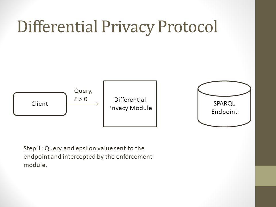 Differential Privacy Protocol