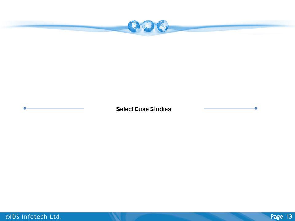 Select Case Studies
