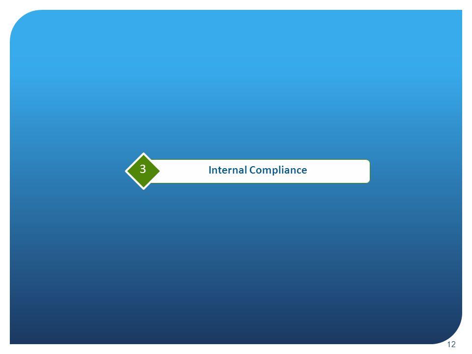 Internal Compliance 3