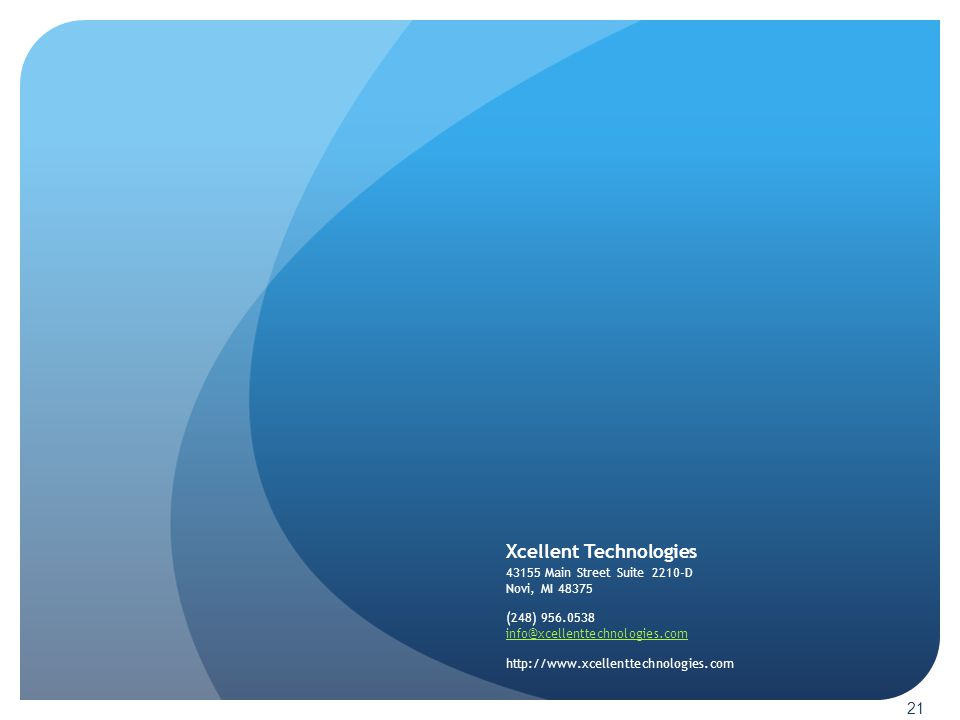 Xcellent Technologies