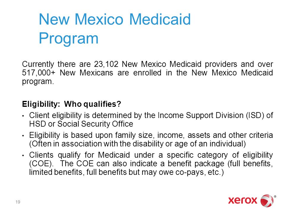 New Mexico Medicaid Program