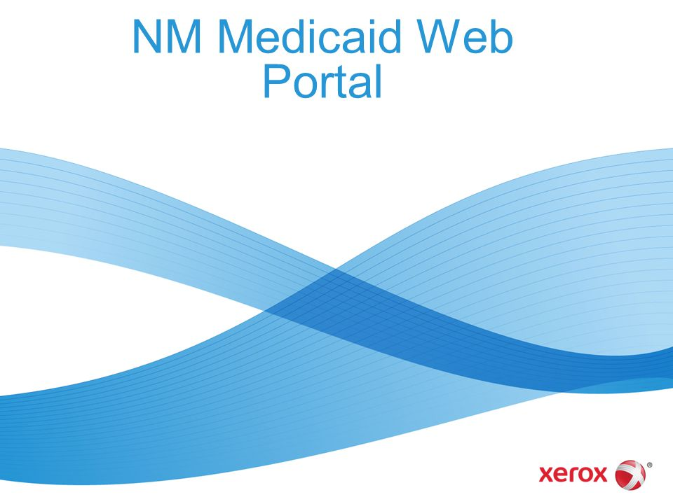 NM Medicaid Web Portal