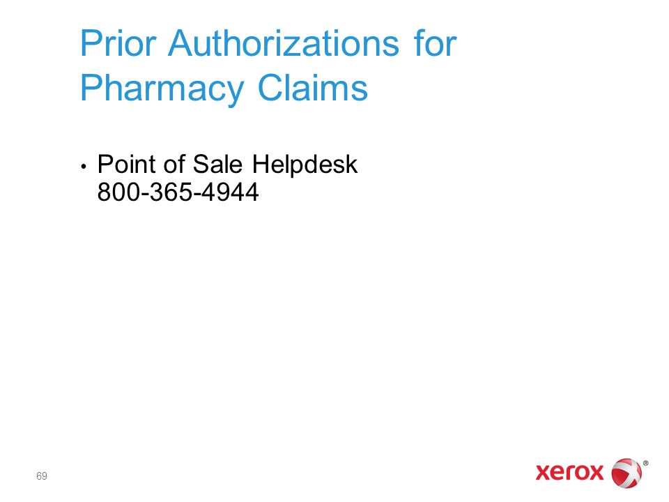 Prior Authorizations for Pharmacy Claims