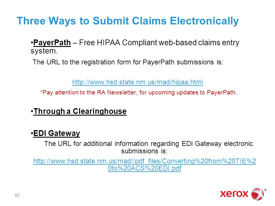 Three Ways to Submit Claims Electronically