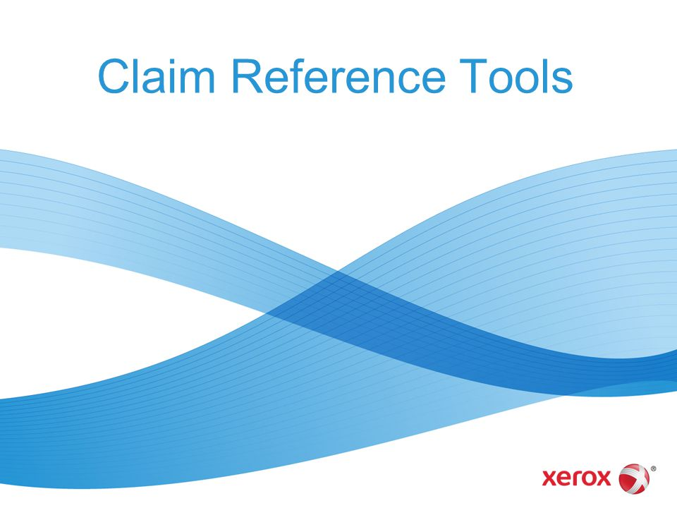 Claim Reference Tools
