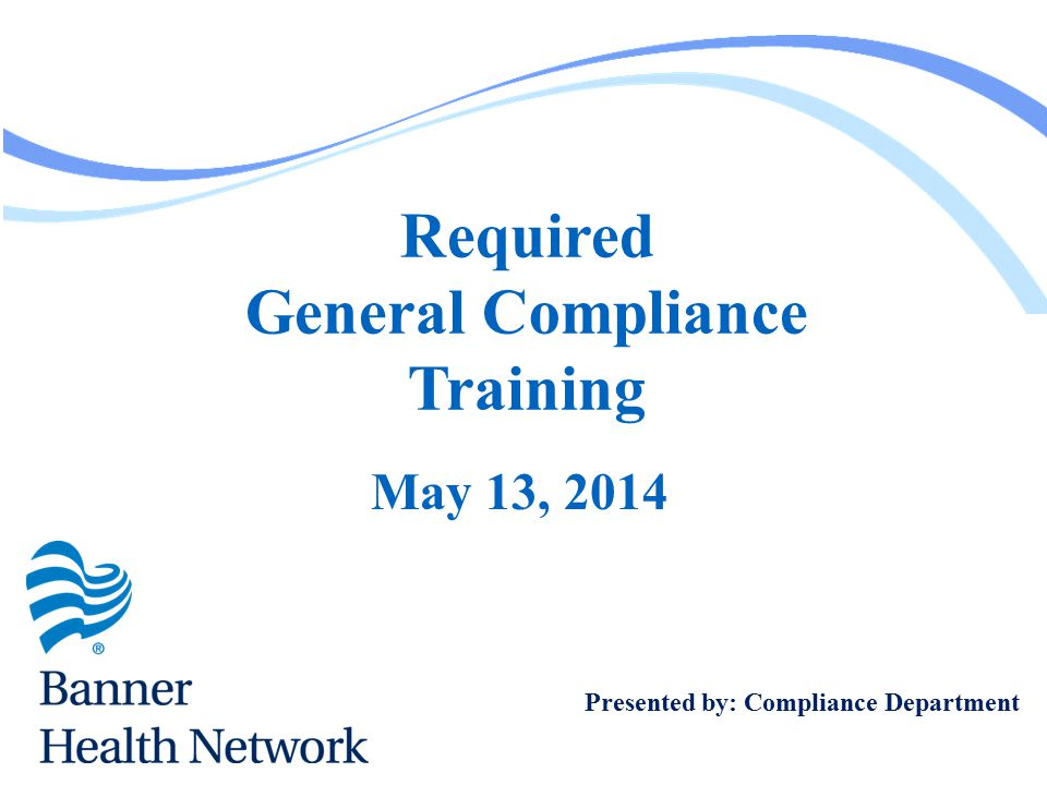 General Compliance Training