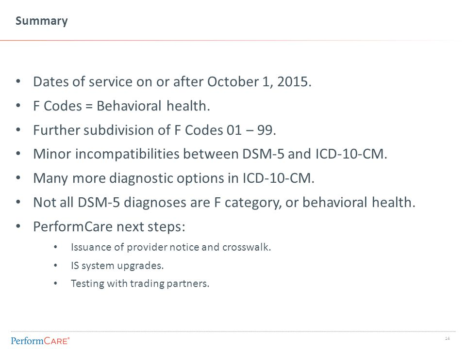 General ICD-10 information and mapping