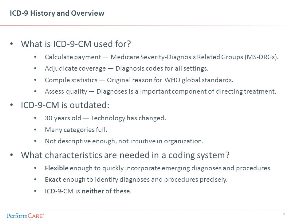 ICD-10 History and Overview