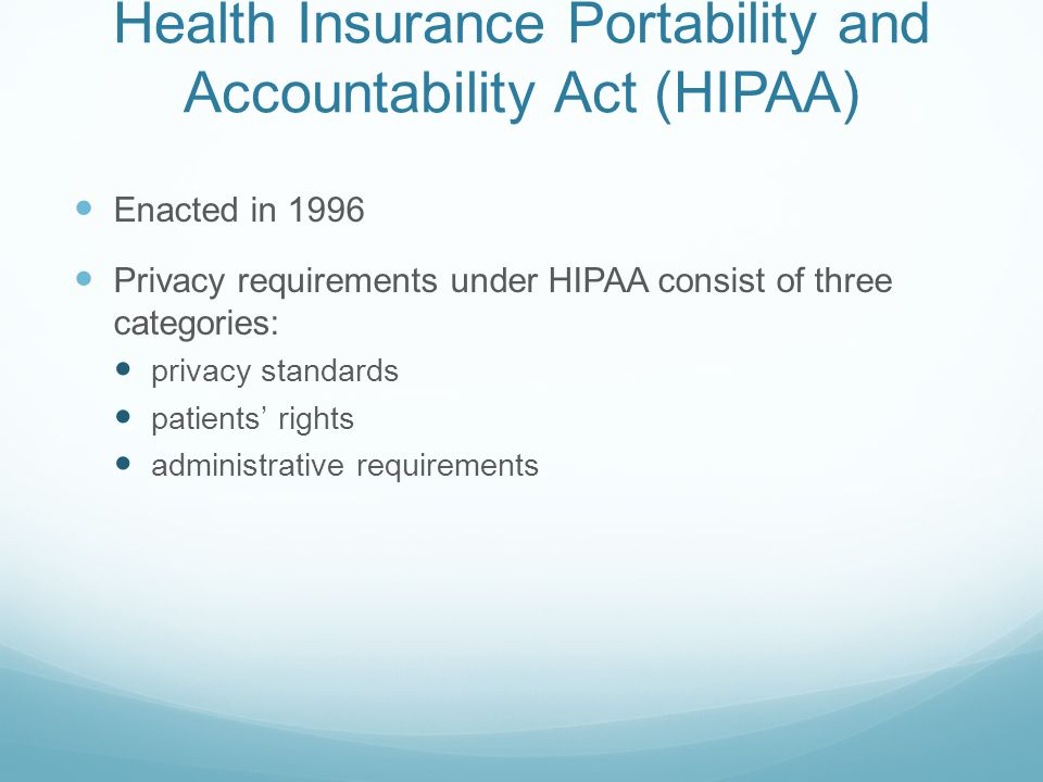 Term Paper On HIPAA
