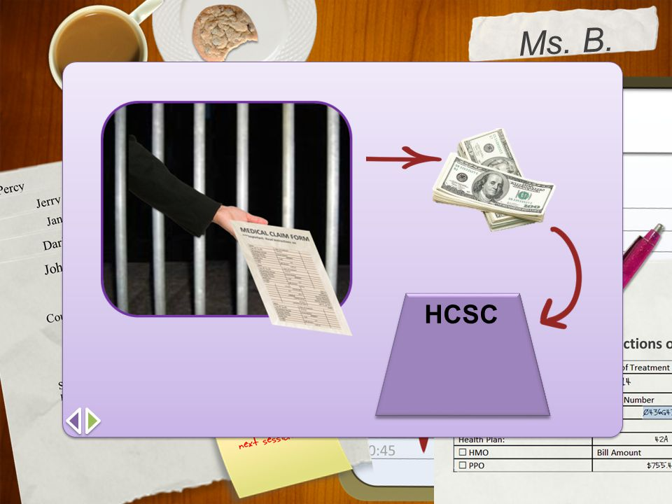 Ms. B. Skloss HCSC.