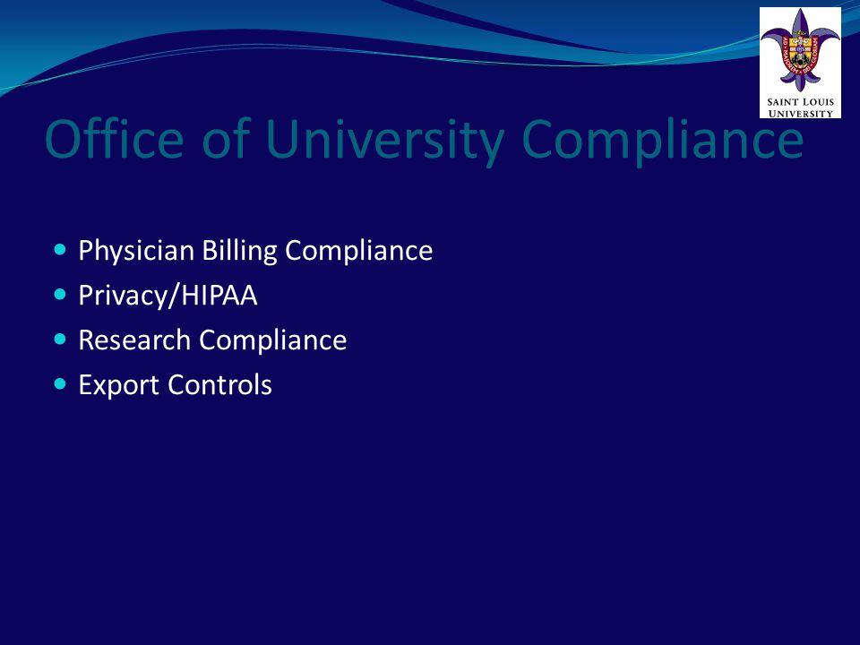 Office of University Compliance