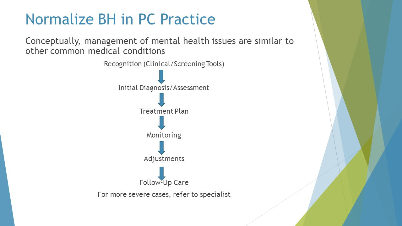 Normalize BH in PC Practice