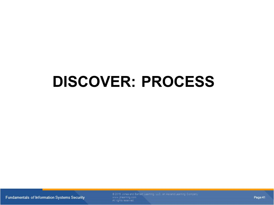 DISCOVER: PROCESS