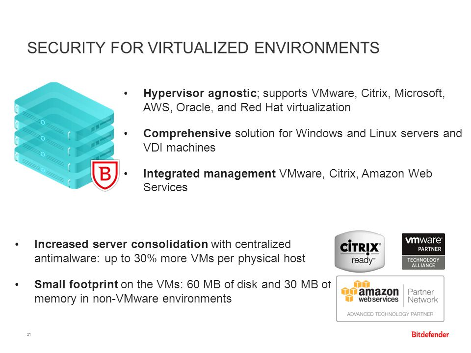 Security for Virtualized Environments