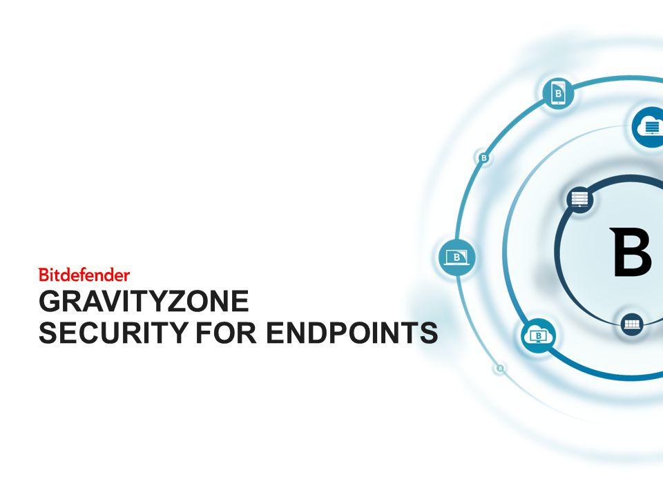 GravityZone Security for Endpoints