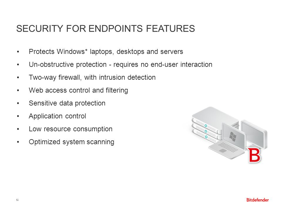 Security for Endpoints features