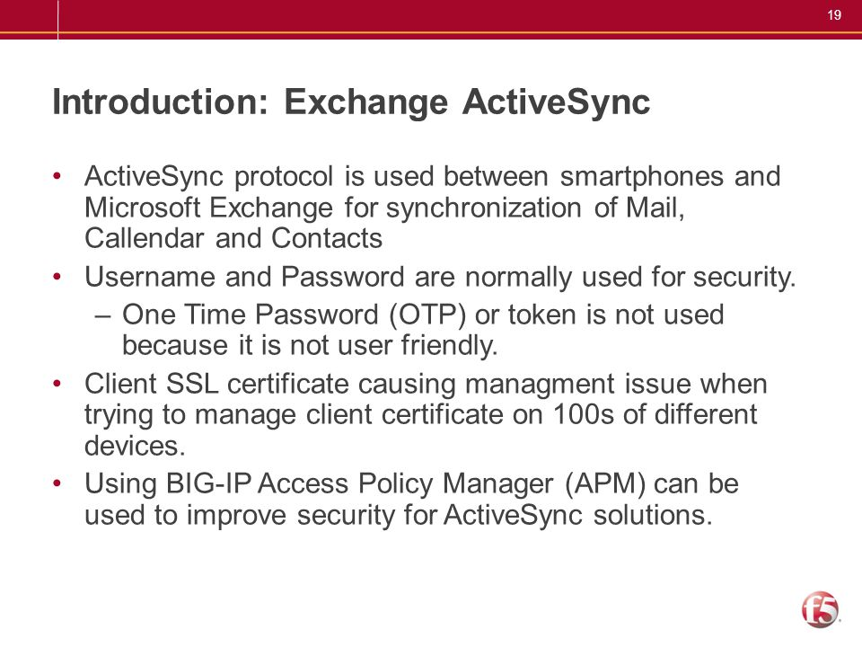 Introduction: Exchange ActiveSync