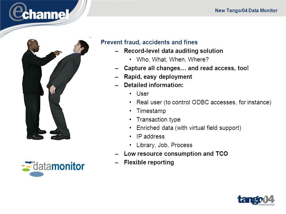 New Tango/04 Data Monitor