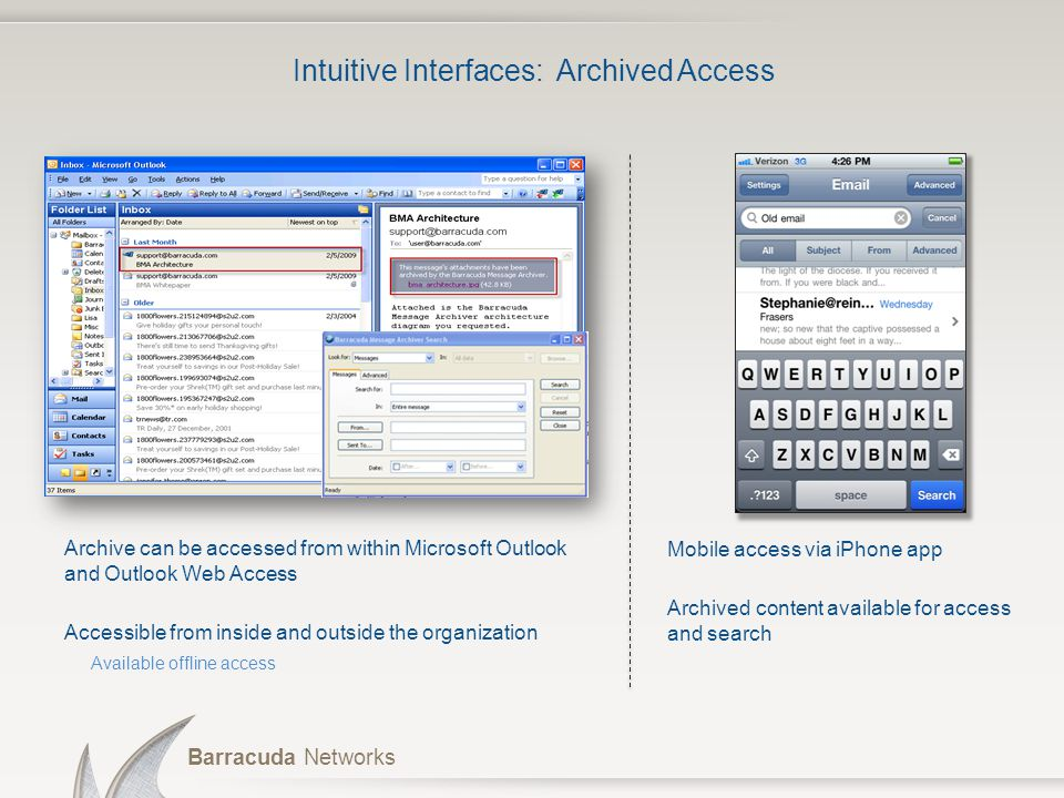 Intuitive Interfaces: Archived Access