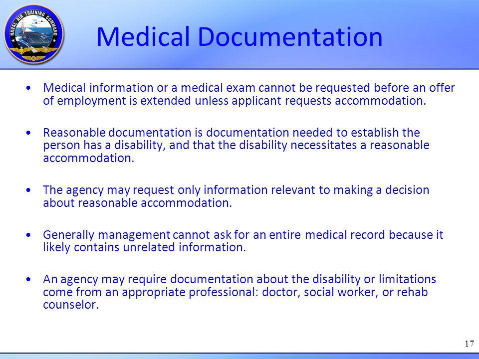 Medical Documentation
