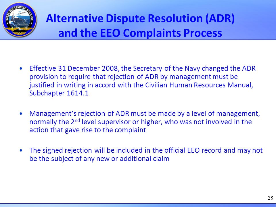 alternative dispute resolution adr is methods