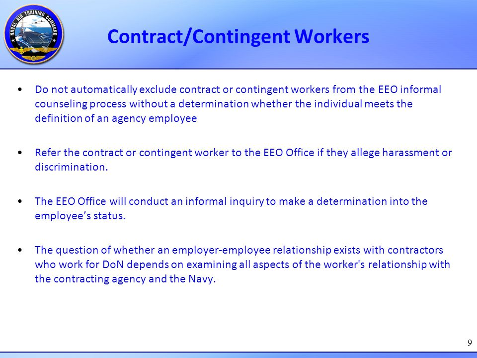 Contract/Contingent Workers