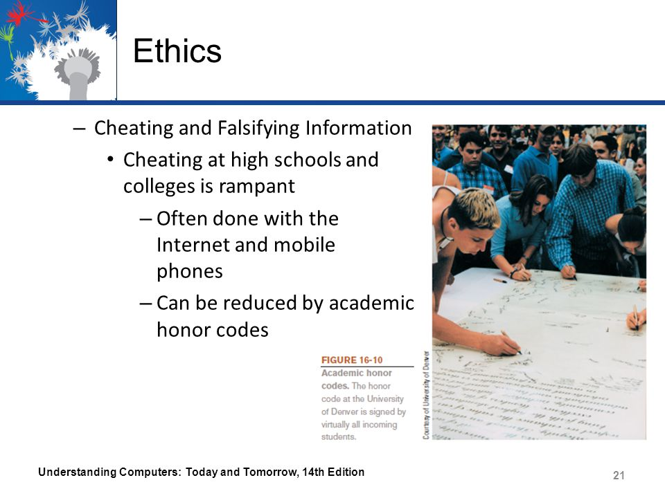 Ethics Cheating and Falsifying Information