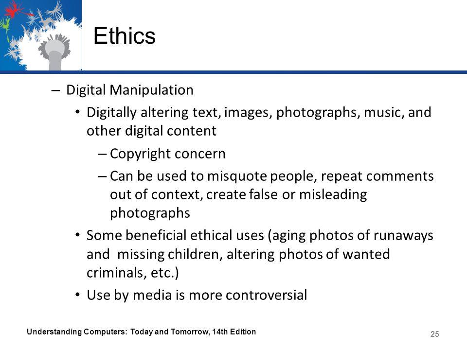 Ethics Digital Manipulation