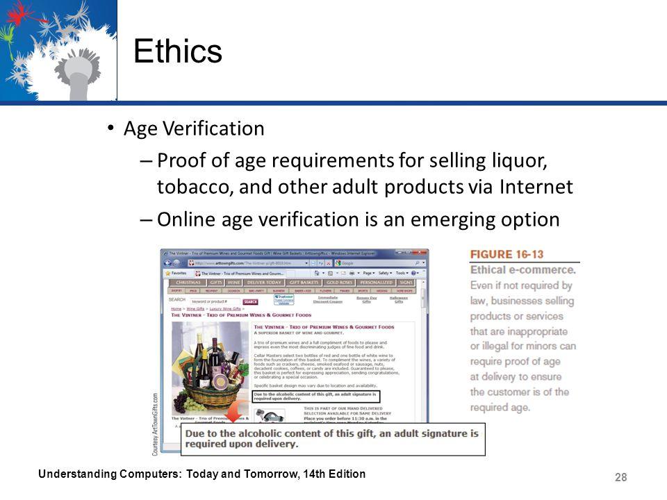 Ethics Age Verification