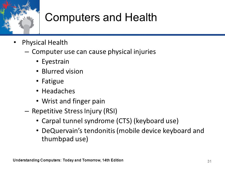 Computers and Health Physical Health