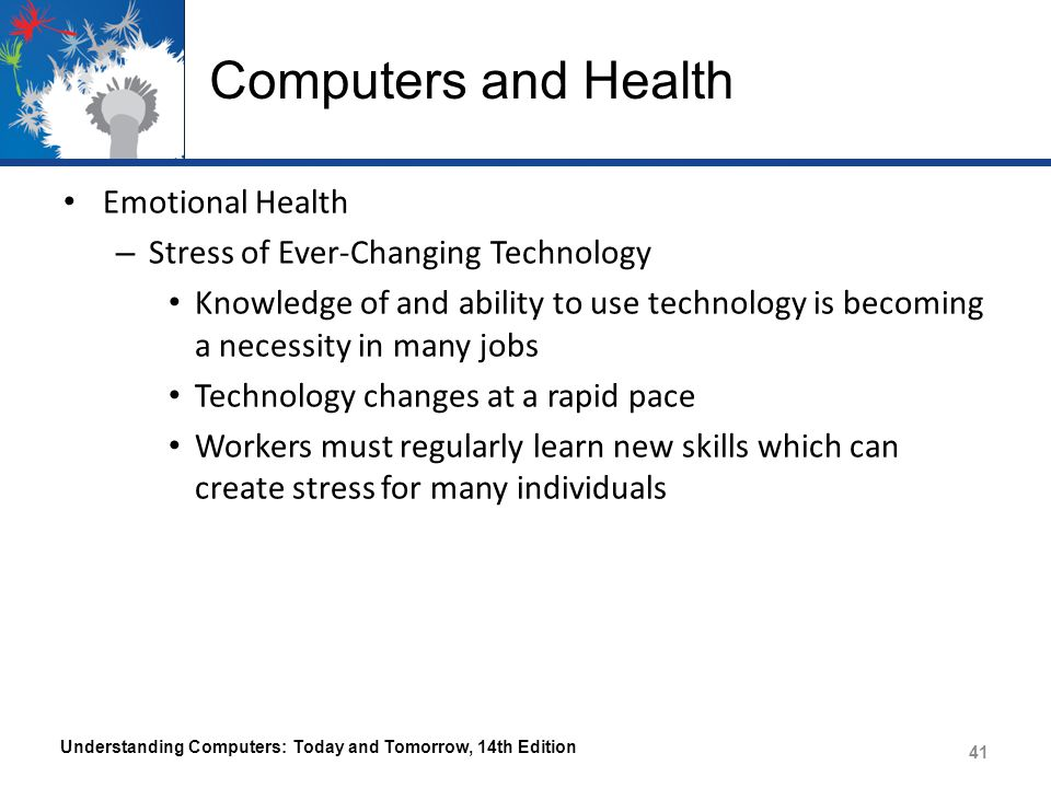 Computers and Health Emotional Health