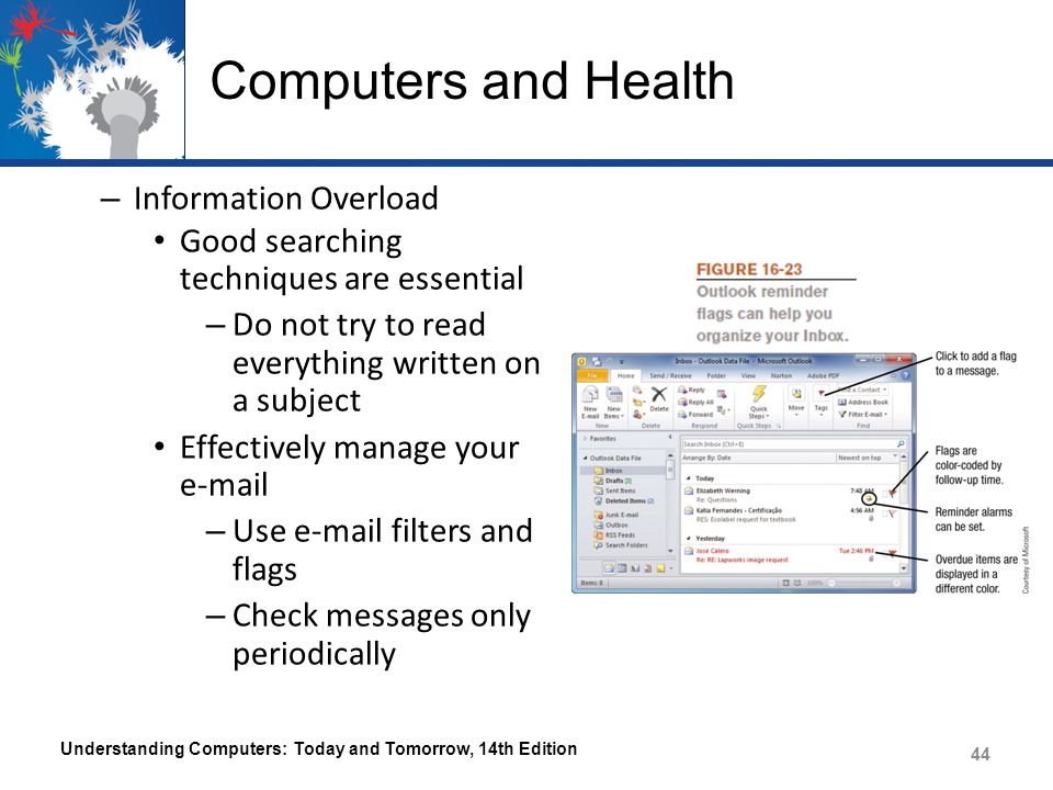 Computers and Health Information Overload