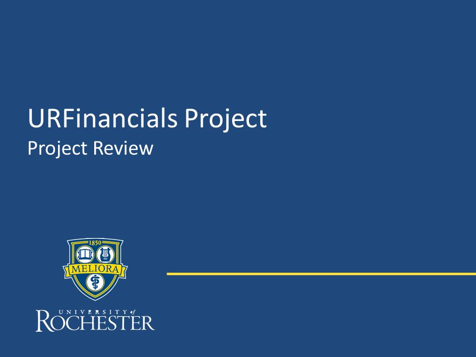 URFinancials Project Project Review