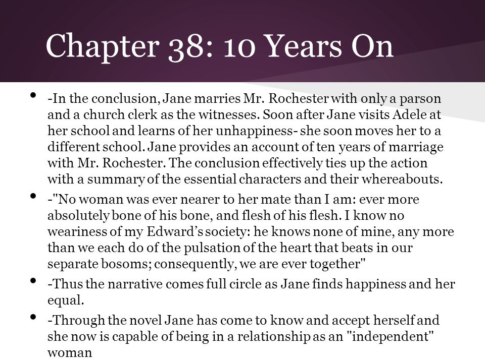 Chapter 38: 10 Years On
