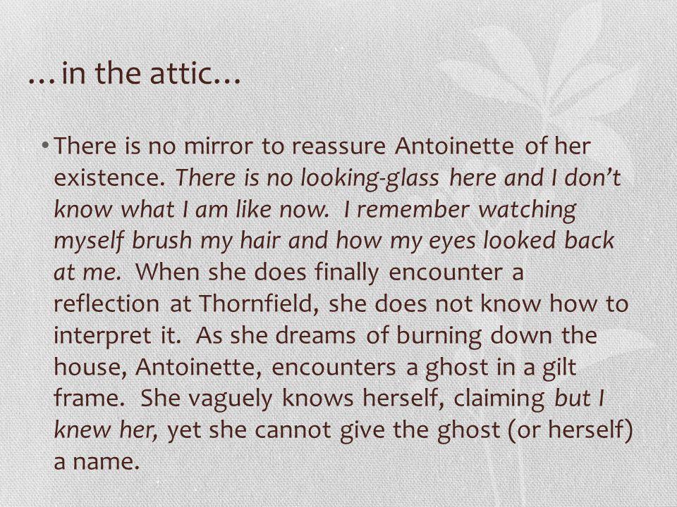 …in the attic…