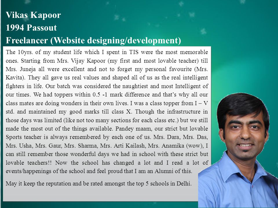 Freelancer (Website designing/development)