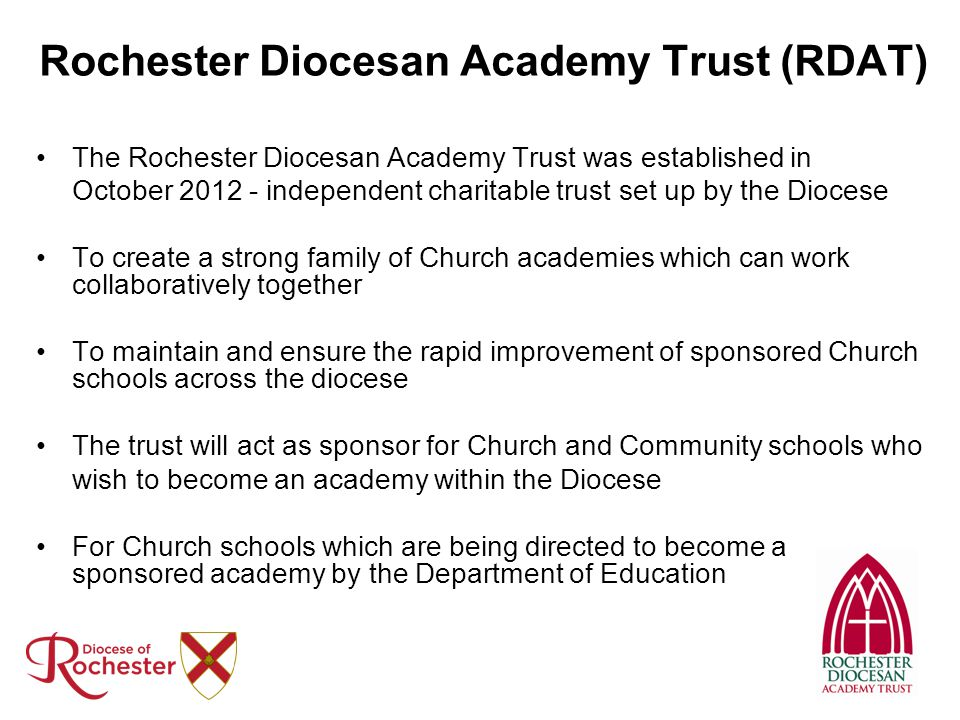Rochester Diocesan Academy Trust (RDAT)