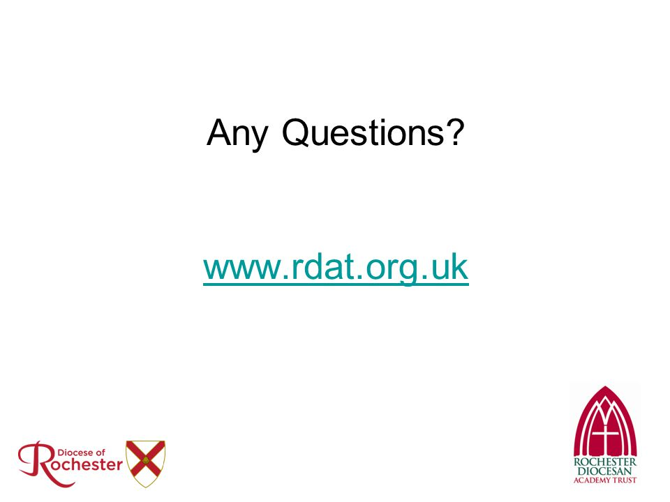 Any Questions www.rdat.org.uk