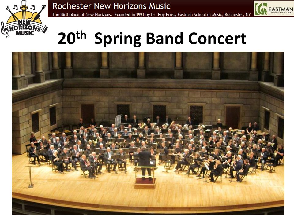 20th Spring Band Concert