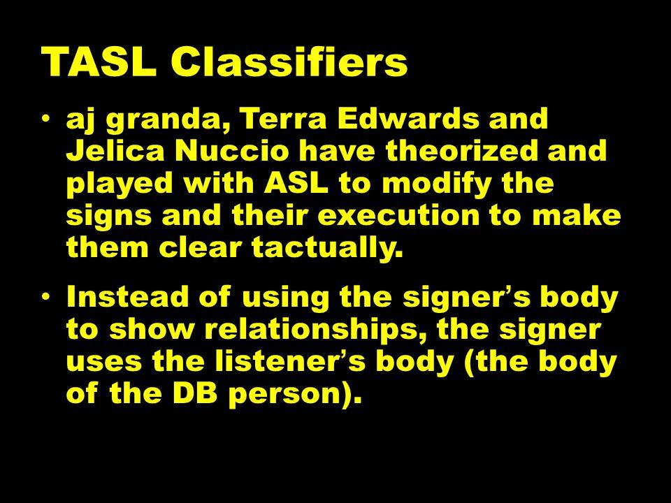 TASL Classifiers