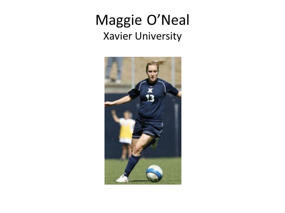 Maggie O'Neal Xavier University