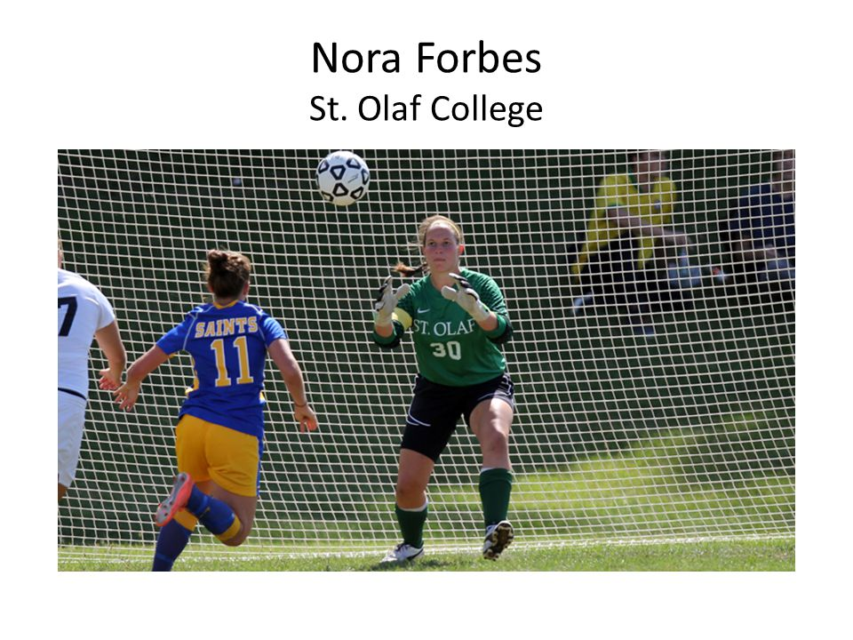 Nora Forbes St. Olaf College