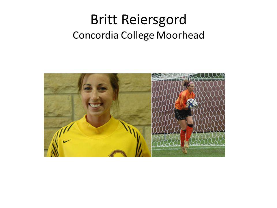 Britt Reiersgord Concordia College Moorhead