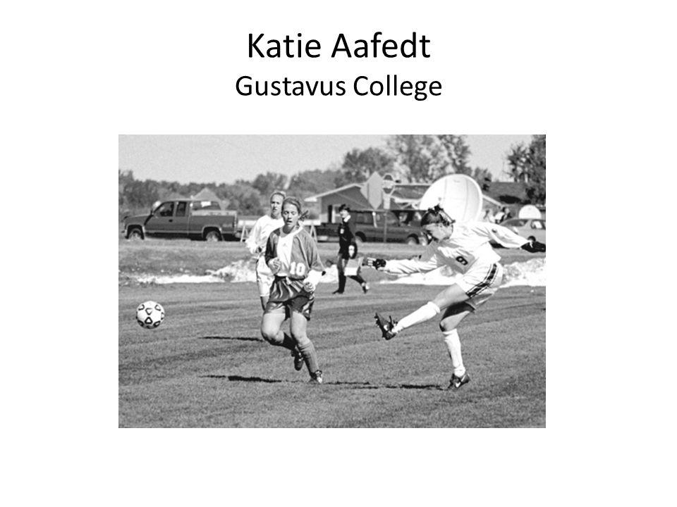 Katie Aafedt Gustavus College