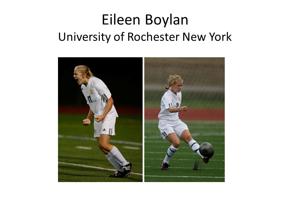 Eileen Boylan University of Rochester New York