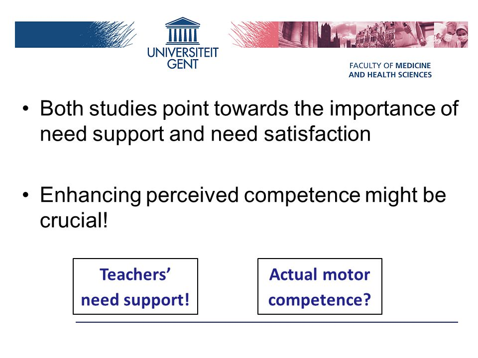 Teachers' need support! Actual motor competence