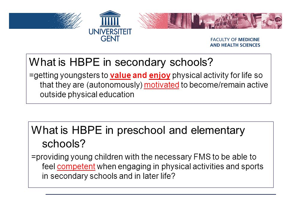 What is HBPE in secondary schools