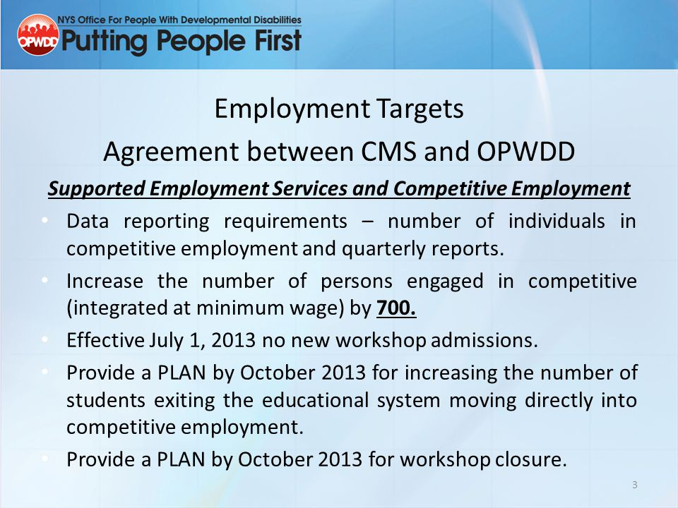 Supported Employment Services and Competitive Employment